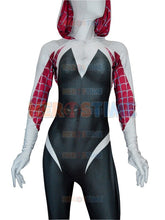 Load image into Gallery viewer, 3D Print Spider Gwen Stacy Spandex Lycra Zentai Spiderman Costume for Halloween and Cosplay Party Hot Sale Free Shipping