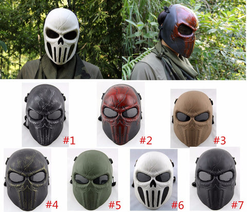 Punisher Chastener Ear-protective Full Face Mask