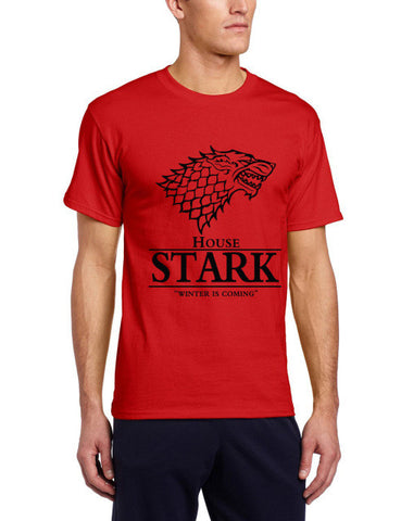 Game of Thrones T Shirt House Stark Winter Is Coming
