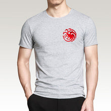 Load image into Gallery viewer, Targaryen Fire & Blood Game of Thrones Men T Shirts !FREE SHIPPING