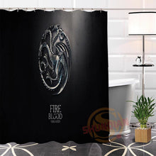 Load image into Gallery viewer, Game of Thrones#2 Fabric Modern Shower Curtain bathroom Waterproof