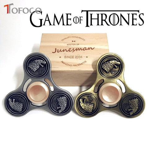 Game of Thrones House Stark Fidget Spinner Metal