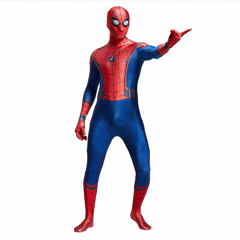 3D Spider-man Homecoming Cosplay Costume  Halloween Party Bodysuit