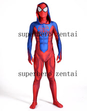 Load image into Gallery viewer, new ben reilly-spiderman costume 3D print spandex lycra fullbody halloween cosplay spider suit for adult/kids free shipping