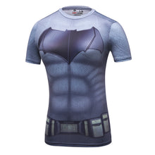 Load image into Gallery viewer, Ladies DC Comics Marvel  Fitness joger T Shirt Girls Bodybuilding Compression Tights Tee Tops (FREE SHIPPING!)