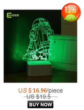 Load image into Gallery viewer, Star Wars Lamp 3D Night Light Robot USB Led Table Desk