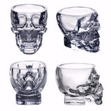 Shot Glass Crystal Skull Head