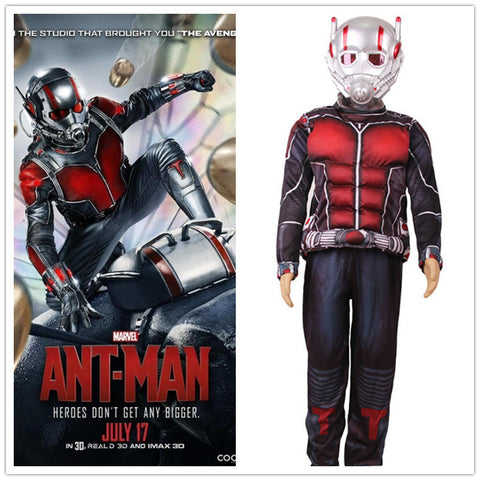 Child Deluxe Ant man Muscle Costume