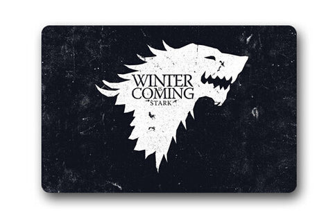 Free Shipping Custom Game of Thrones Theme Doormat Home Decor Stylish Bedroom Carpet Classic Durable Bathroom Mats #DM-045