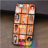 ORANGE IS THE NEW BLACK - OITNB fashion cell phone case for iphone 4 4s 5 5s 5c SE 6 6s & 6 plus & 6s plus #qz335