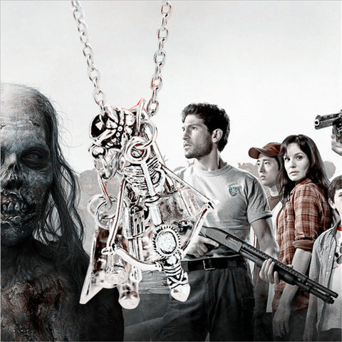 The Walking Dead Charm Necklace  FREE shipping