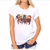 New fashion marvel superhero printed t shirts women (FREE SHIPPING!)