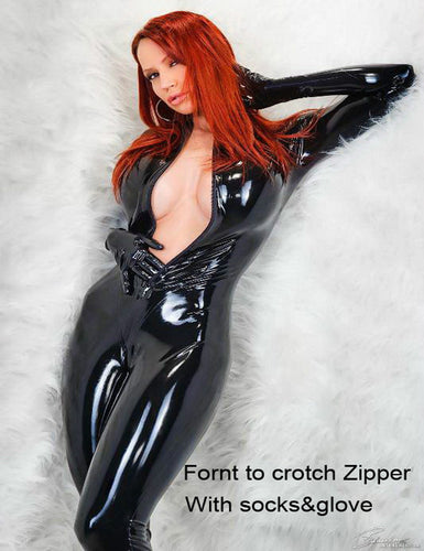 Catsuit PVC Faux Leather Jumpsuit (FREE SHIPPING!)