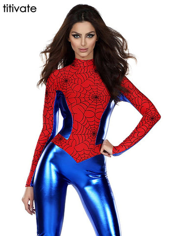 Sexy Spider Man Costumes FREE SHIPPING