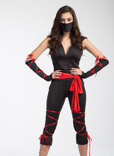 Load image into Gallery viewer, Sexy  Female Ninja Costume (FREE SHIPPING)