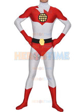 Load image into Gallery viewer, Captain Planet Spandex Superhero fullbody superhero costume (FREE SHIPPING!)