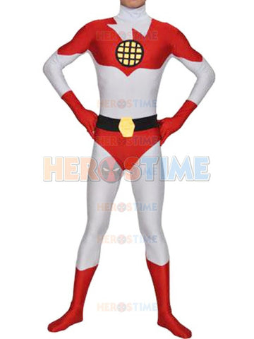 Captain Planet Spandex Superhero fullbody superhero costume (FREE SHIPPING!)
