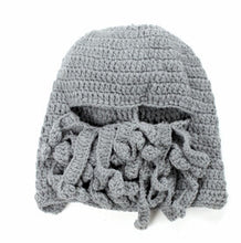 Load image into Gallery viewer, Octopus Winter Warm Knitted Wool Ski Face Mask