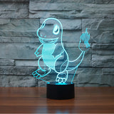 Pokemon go Table Lamp 3D