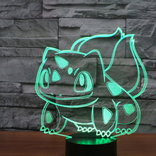 Load image into Gallery viewer, Pokemon go Table Lamp 3D
