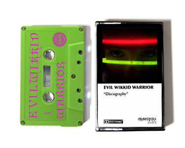 EVIL WIKKID WARRIOR | DISCOGRAPHY | CASSETTE TAPE | oo113