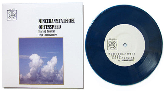 "MINCEMEAT OR TENSPEED VS. DAN FRIEL | MINCEMEATFRIELORTENSPEED | 7"" RECORD 