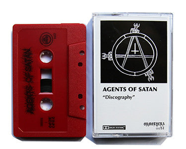 AGENTS OF SATAN | DISCOGRAPHY | CASSETTE TAPE | oo51