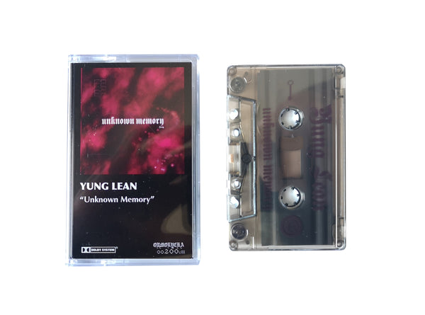 YUNG LEAN | UNKNOWN MEMORY | CASSETTE TAPE | oo200cII
