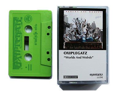 OXIPLEGATZ | WORLDS AND WORLDS + SIDEREAL JOURNEY | 2 x CASSETTE TAPE | oo54