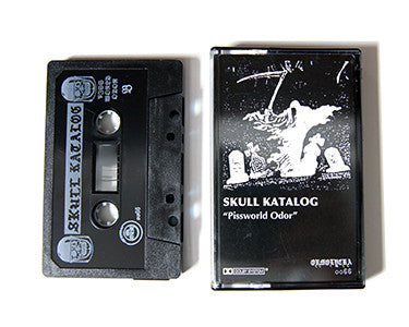 SKULL KATALOG | PISSWORLD ODOR | CASSETTE TAPE | oo66