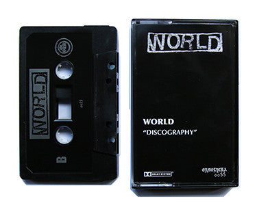 WORLD | DISCOGRAPHY | CASSETTE TAPE | oo55