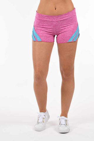 Mia Baseball Short- Pink