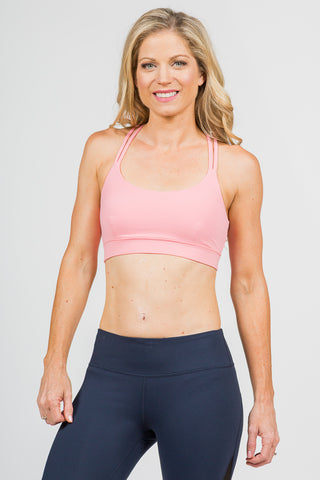 Dream Catcher Sport Bra- Pink