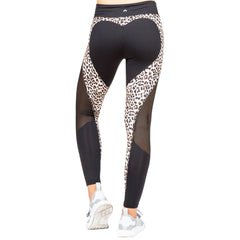 Leopard Heart Booty Leggings