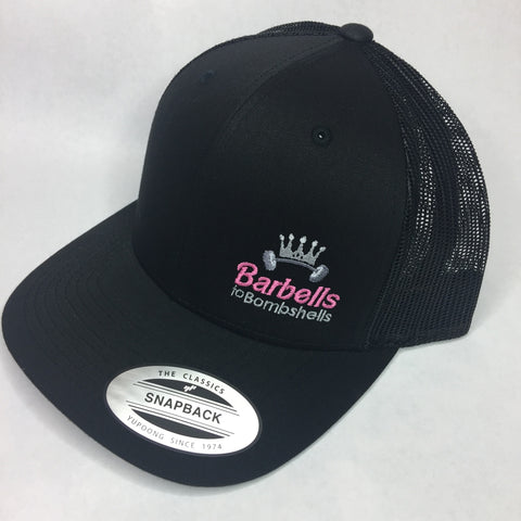 Barbells to Bombshells Trucker Hat