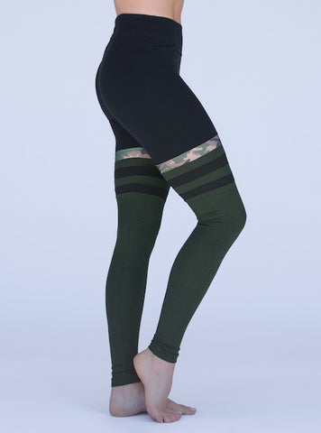 Limited Edition Mia Brazilia Baseball Legging- Camo