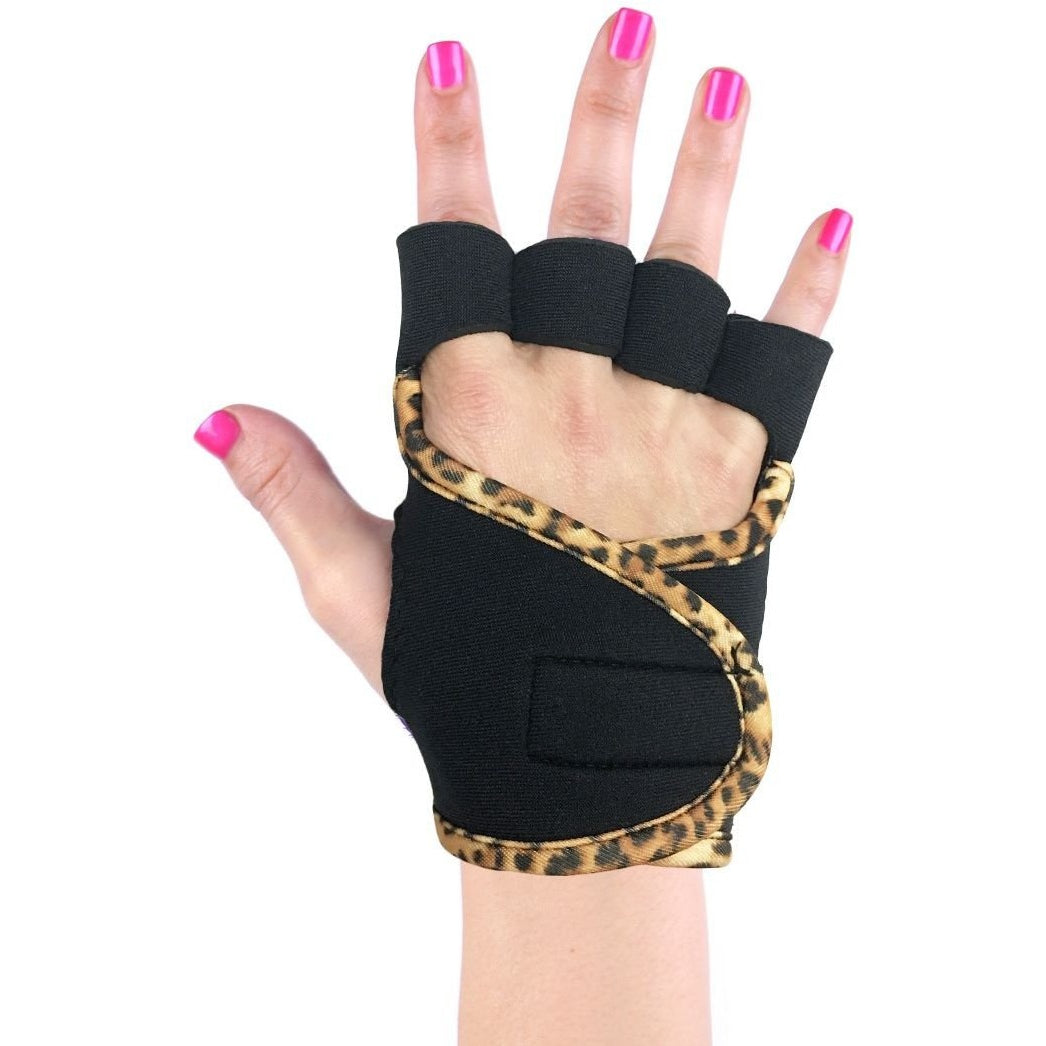 G- Loves Leopard Print Lifting Gloves