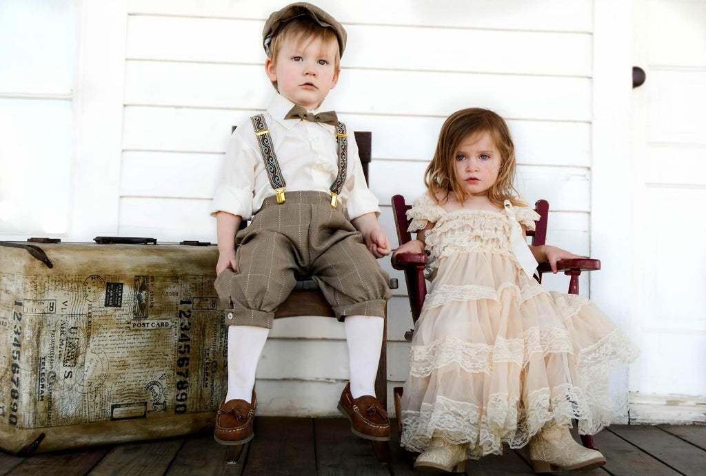 As Seen In Vogue Lace Dress | 2-8T, Dresses - Rock A Bye Baby Co.