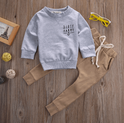 Dirty Harry Crew | 3-24M, Outfits - Rock A Bye Baby Co.