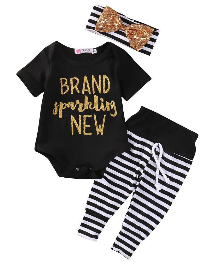 Brand Sparklin' New Take Home Outfit | 0-18M, Outfits - Rock A Bye Baby Co.