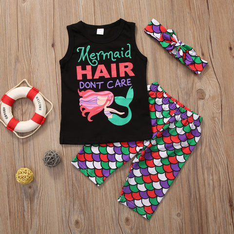 Mermaid Hair 3 PC Set | 12M - 5T