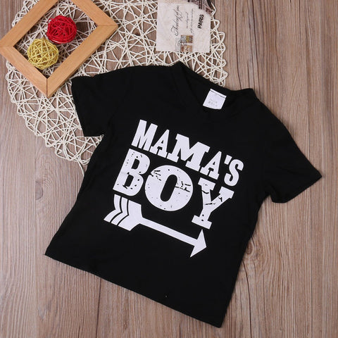 Mama's Boy T-shirt | 3-9T, Tops - Rock A Bye Baby Co.