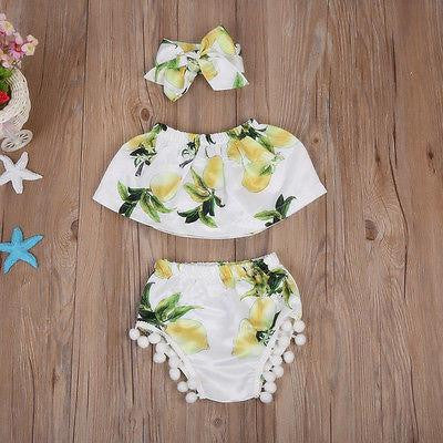 Lemon 3 PCS Boho Set | 3-18M