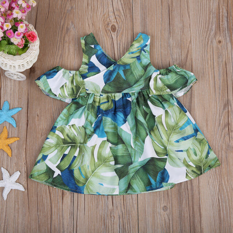 Banana Leaf Dress | 12M-5T