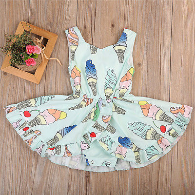 Ice Cream Dress | 6M-3T
