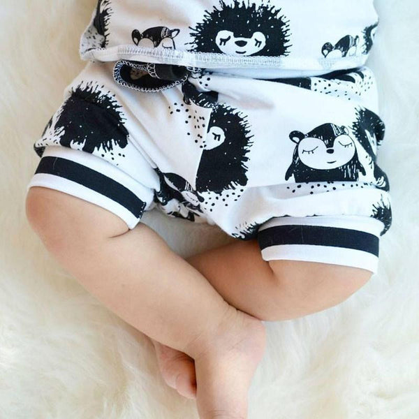 Monsters! Monsters! Top & Shorts | 3-24M, Outfits - Rock A Bye Baby Co.