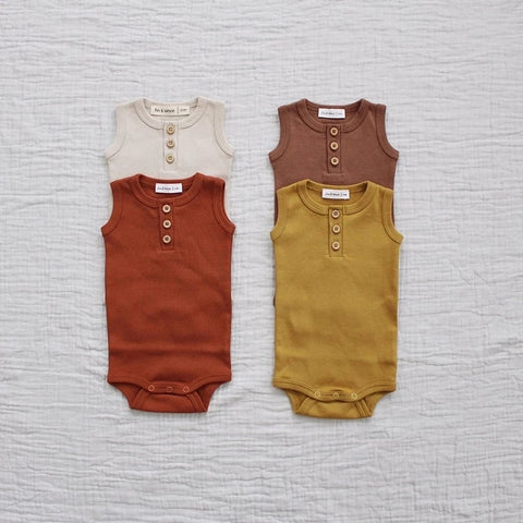 Boho Style Colors Baby boys Girls Knit Rompers Cotton Sleeve Baby Kids Jumpsuits Children Clothing | 0-2years
