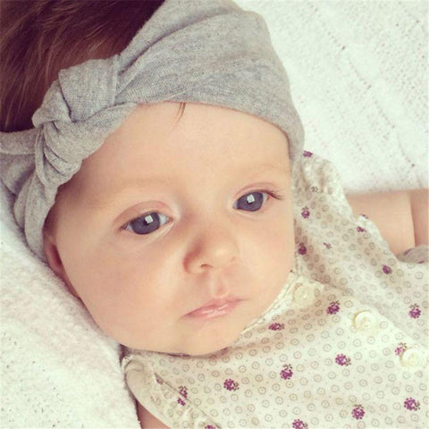 Knotted Infant Headband, Headbands - Rock A Bye Baby Co.