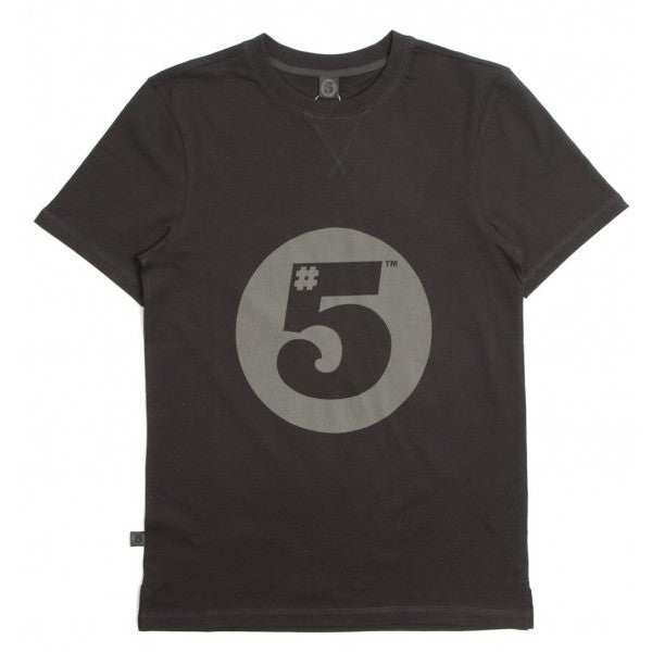 #5 Fitted T-Shirt Black
