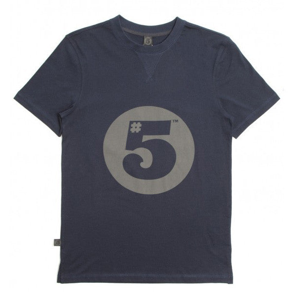 #5 Fitted T-Shirt Navy
